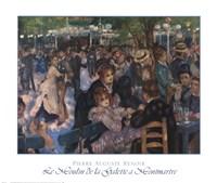 Le Moulin de la Galette a Montmartre Fine-Art Print