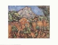 Mount Sainte-Victorie, c.1904 Fine-Art Print