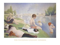 Bathers at Asnieres Fine-Art Print