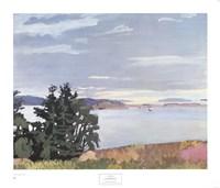 View of Barred Island Fine-Art Print