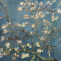 Blossoming Almond Tree, Saint-Remy, c.1890 Detail Fine-Art Print
