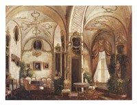 Prince Andrey's Drawing Room Fine-Art Print