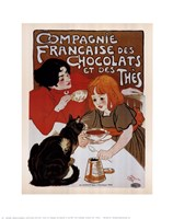 Compagnie Des Chocolats Et Des Thes Fine-Art Print