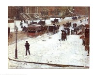 Fifth Avenue in Winter Fine-Art Print