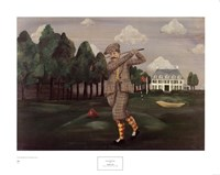 Teeing Off Fine-Art Print