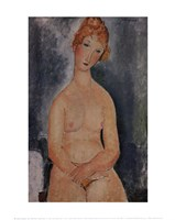 Seated Nude, ca. 1918 Fine-Art Print