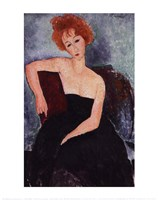 Red-Headed Woman Fine-Art Print
