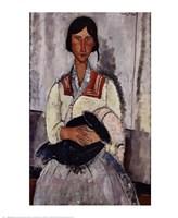 Gypsy with Baby Fine-Art Print