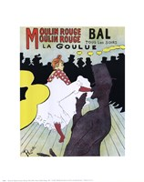 Poster, Moulin Rouge, 1891 Fine-Art Print