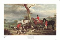 Thomas Wilkinson, Mfh, with the Hurworth Fine-Art Print