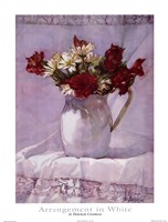 Arrangement in White I Fine-Art Print