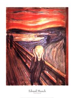 The Scream, c.1893 Fine-Art Print