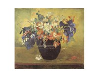 A Vase of Flowers, 1896 Fine-Art Print