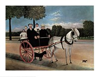 Father Juniet's Cart Fine-Art Print