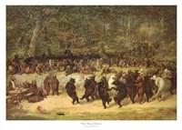 The Bear Dance, c.1870 Fine-Art Print