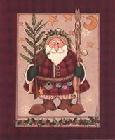 Woodland Santa Fine-Art Print