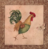 Farmyard Bird I Fine-Art Print