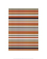 Terracotta Stripes Fine-Art Print