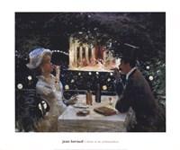 Dinner at Les Ambassadeurs Fine-Art Print