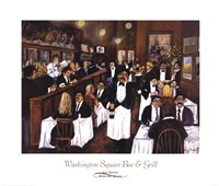 Washington Square Bar & Grill Fine-Art Print