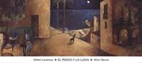 El Perro y la Luna Fine-Art Print