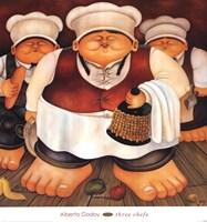 Three Chefs Fine-Art Print