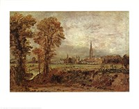 Salisbury Cathedral from the Meadow Fine-Art Print