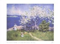 Un Fjord Pres D'oslo Ete 1892 Fine-Art Print