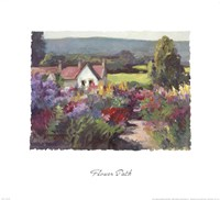 Flower Path Fine-Art Print
