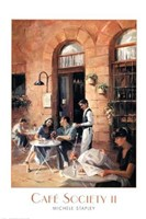 Cafe Society II Fine-Art Print
