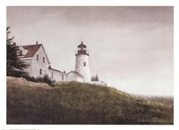 Mist at Pemaquid Light Fine-Art Print