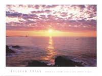 Sunrise from Portland Head Light Fine-Art Print