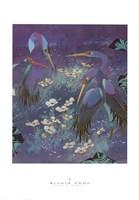 Cranes in Paradise I Fine-Art Print