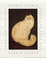 White Persian Cat Fine-Art Print