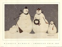 Snow Family Fine-Art Print