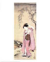 Girl Under a Willow Fine-Art Print