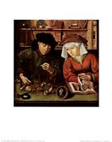 Moneylender and His Wife Fine-Art Print