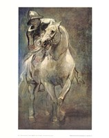 Soldier on Horseback Fine-Art Print