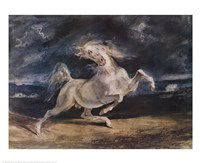 Frightened Horse Fine-Art Print