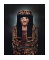 Mummy Case of Lady Teshat Fine-Art Print