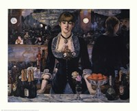 Bar At the Folies-Bergere Fine-Art Print