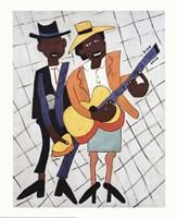Street Musicians Fine-Art Print