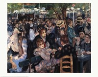 Ball At the Moulin De La Galette Fine-Art Print
