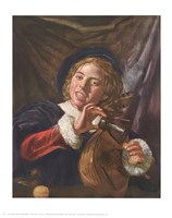 Boy with a Lute Fine-Art Print
