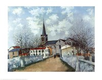 Church in Suburbs Fine-Art Print