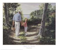 Picking Berries Fine-Art Print