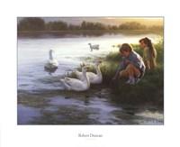 At the Mill Pond Fine-Art Print