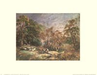 Landscape With Resting Men Fine-Art Print
