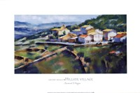 Hillside Village 16.5x25 Fine-Art Print