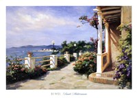 French Mediterranean Fine-Art Print